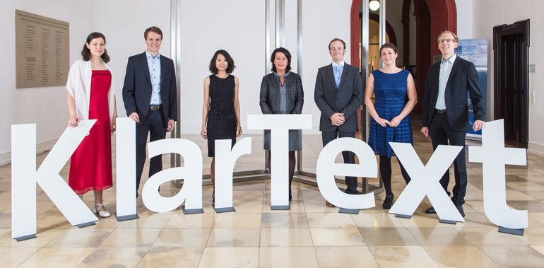 Die KlarText!-Gewinner aus dem Jahr 2016