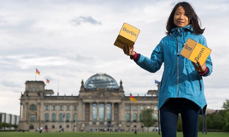 Berlin – oder doch lieber Bonn? Dass das Parlament in den Reichstag zieht, war nach der Wiedervereinigung umstritten.