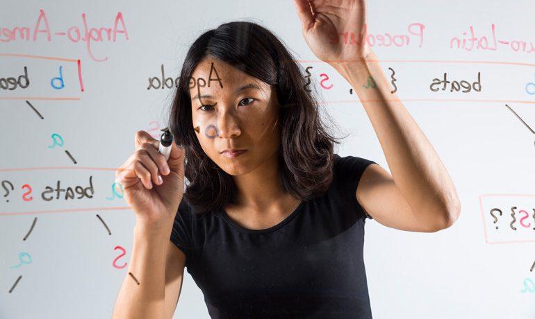 Jiehua Chen untersucht, unter welchen Bedingungen die Alternative A bei einer Abstimmung die Alternative B schlägt.