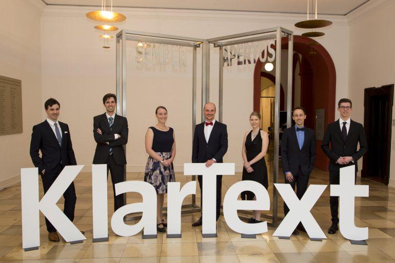 Die Gewinnerinnen und Gewinner des KlarText-Preises 2017