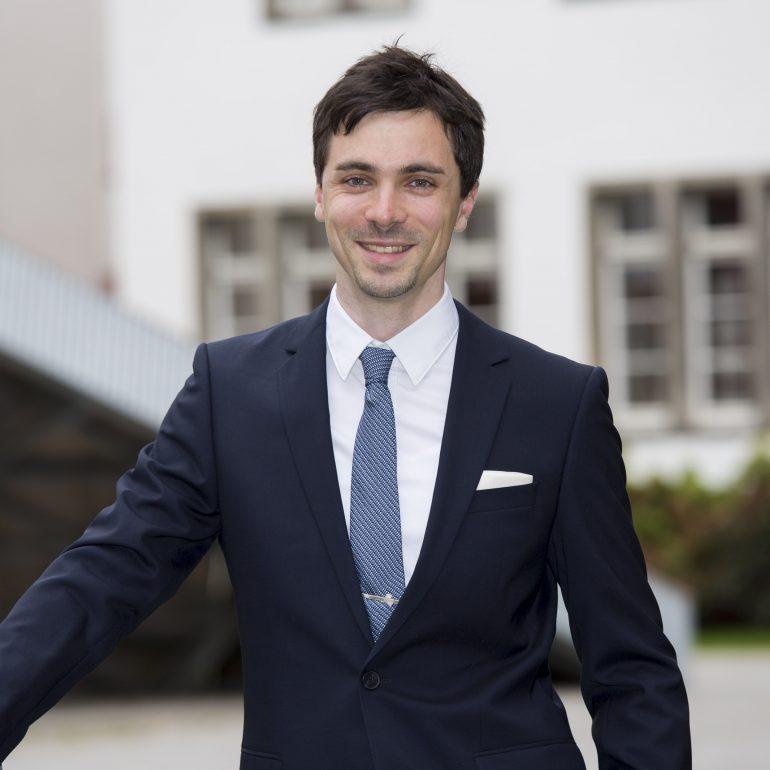 Alexander Freytag beim KlarText - Preis für Wissenschaftskommunikation 2017