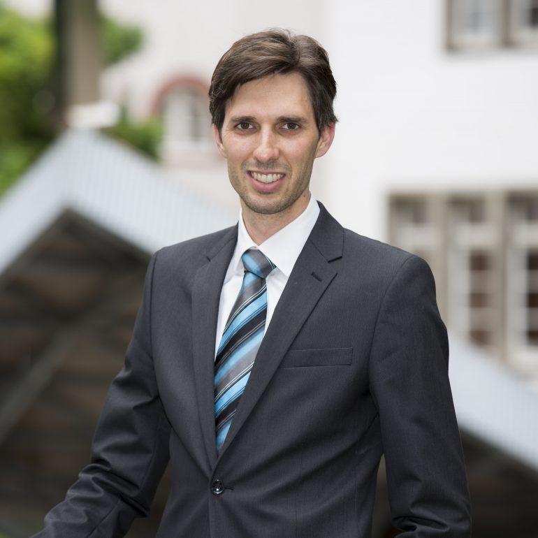 Dominik Niopek beim KlarText - Preis für Wissenschaftskommunikation 2017