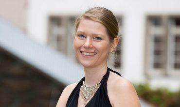 Juliane Dannberg beim KlarText - Preis für Wissenschaftskommunikation 2017