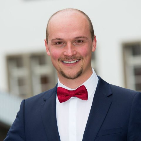 Christian Mathis beim KlarText - Preis für Wissenschaftskommunikation 2017
