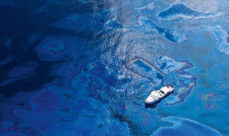 Nach der Explosion der Deepwater Horizon bildete sich ein fast 10.000 Quadratkilometer großer Ölteppich.