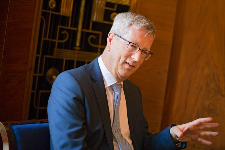 Günter M. Ziegler, Präsident der Freien Universität Berlin