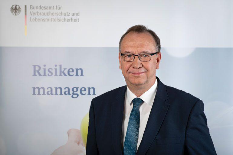 Helmut Tschiersky, Präsident des Bundesamtes für Verbraucherschutz und Lebensmittelsicherheit