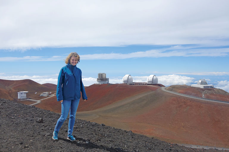 Anna-Christina Eilers auf Hawaii