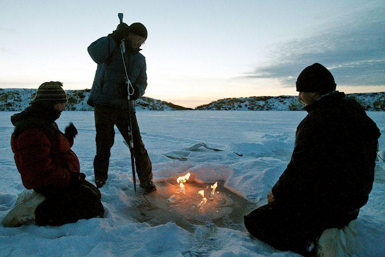 Menschen in der Arktis