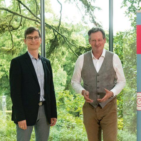 Achim Kampker und Dr. Eckart von Hirschhausen